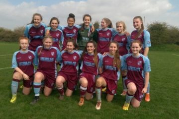 Milton Ladies U18's win the Thames Valley Counties Women's Football League, with 3 games in hand.