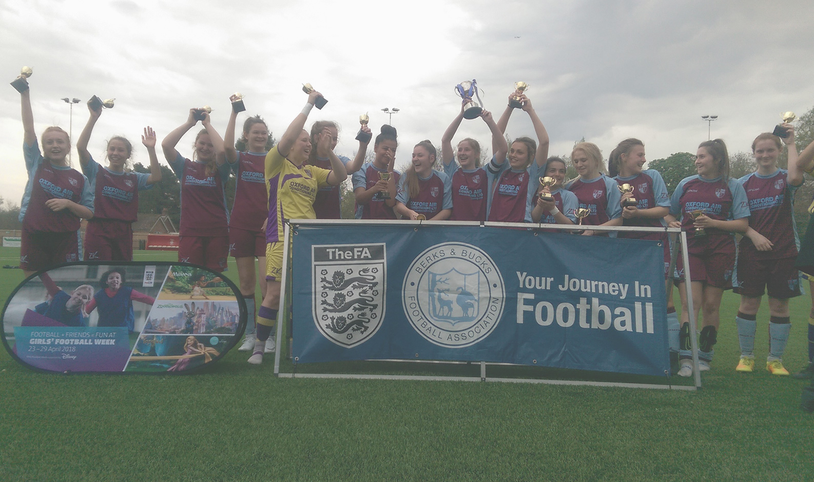 *Update* Milton Ladies U18's win the Berks and Bucks County Cup!