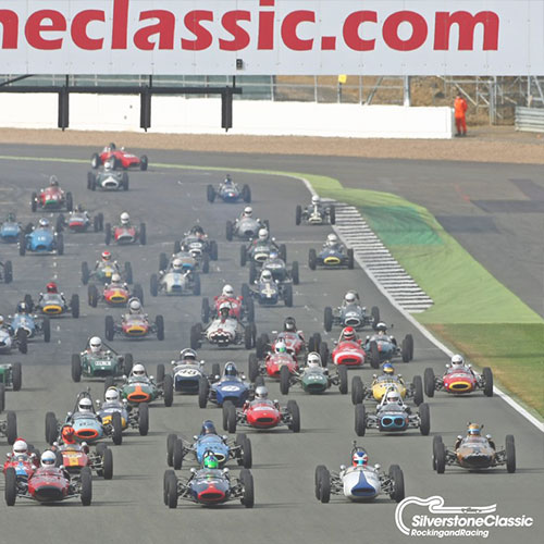 Silverstone Classic, Europe's biggest classic motor racing event is back for 2018. Taking place from 20th – 22nd July, this year Oxford Air Conditioning are sponsoring George and Mark Haynes in the Historic Formula Junior competition.