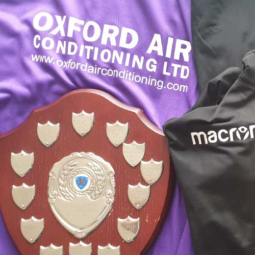 Oxford Air Conditioning sponsor milton utd ladies