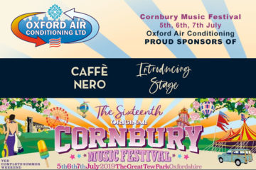 Oxford Airconditioning sponsors Cafe Nero at Cornbury Music Festival